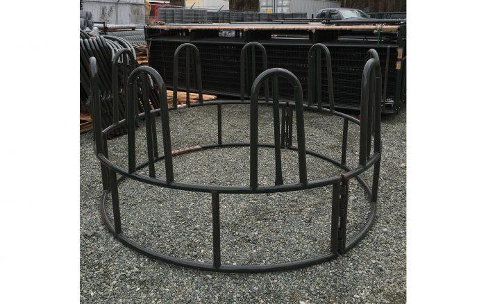 Tombstone Round Bale Horse Feeder